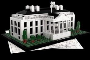 Lego White House. Wonder if it has an organic garden out back?