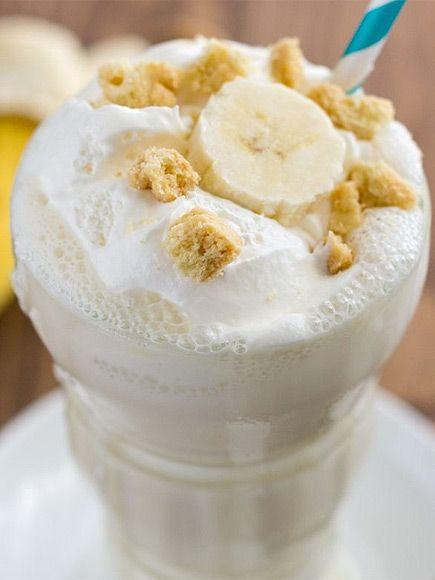 ... | Milkshake recipes, Peach milkshake and Banana pudding milkshake