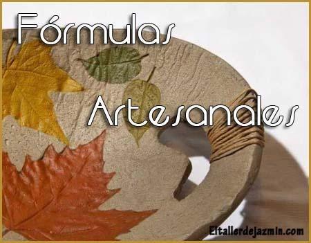 Fórmulas artesanales Parte I