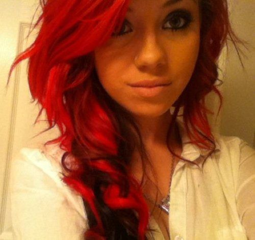It Works Even With Tan Skin D  Sexy Red Hair  Pinterest  Bright Red Hair