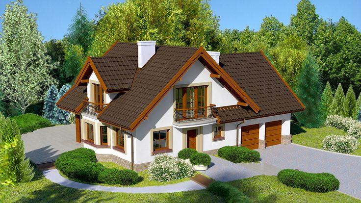 Wizualizacja Dom przy Cyprysowej 15K CE