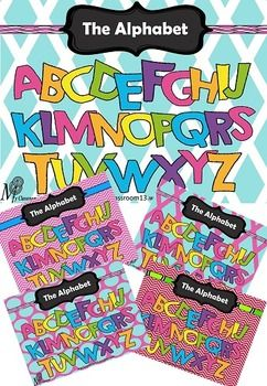 This fun and colourful FREEBIE Alphabet bundle of posters are designed to assist students in learning the alphabet in a fun and colourful way. You have the choice of 5 great posters to mix and match with your classroom colour scheme. I suggest that it is best to print this poster off in A3 size to have an impact in your classroom, laminate and then hang up.I hope you love this resource and I look forward to hearing your feedback and comments.