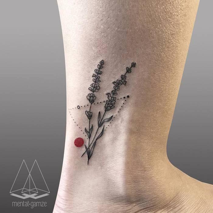 Best 25+ Lavender Tattoo Ideas On Pinterest