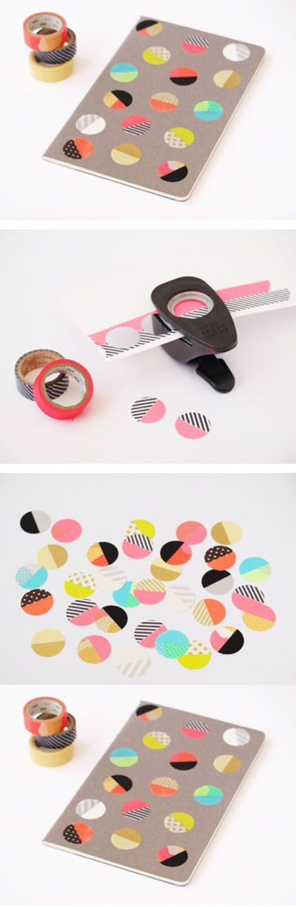 Diy Beautiful Tape Stickers | DIY & Crafts Tutorials