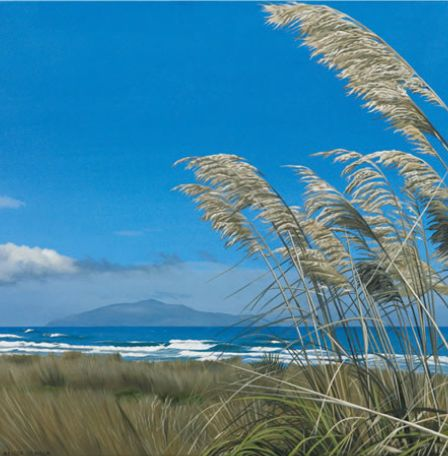 Toe Toe in late Summer, Otaki Beach, New Zealand - by Alison Gilmour Canvas and paper art-prints from imagevault.co.nz
