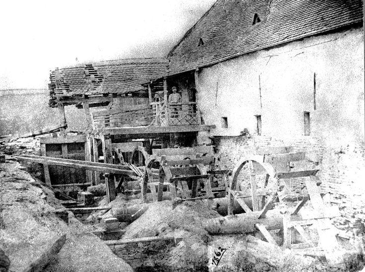 mlýn v Dolních Kounicích 1862