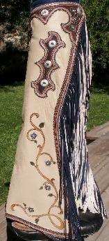 Denice Langley Custom Leather and Silver: http://denicelangley.com