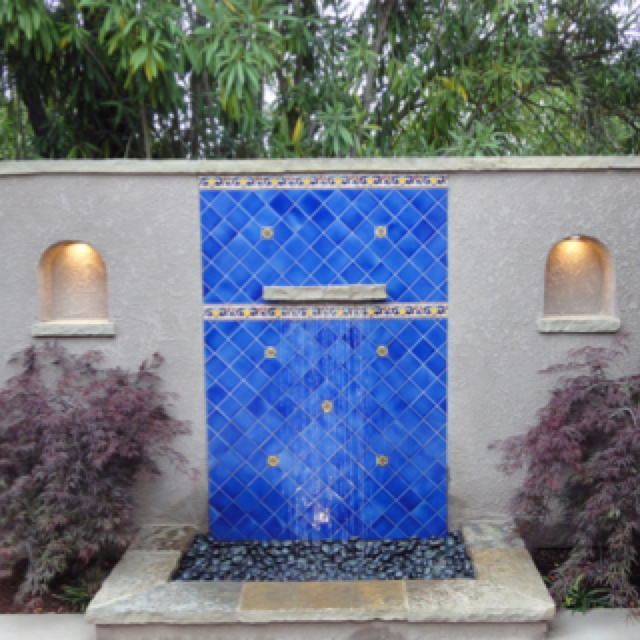 Marvelous The Great Patio Wall Fountain Italian Courtyard Designs Courtyard Wall  Fountain Garden Is One Of The Pictures That Are Related To The Picture  Before In The