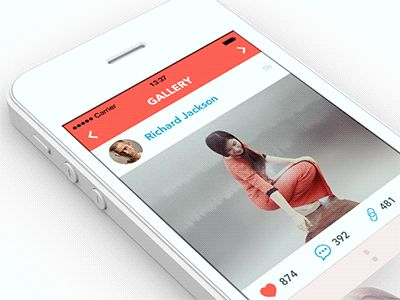 Social App Design [GIF] by Ramotion
