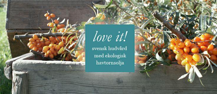Ekologisk hudvård från MyHavtorn of Sweden