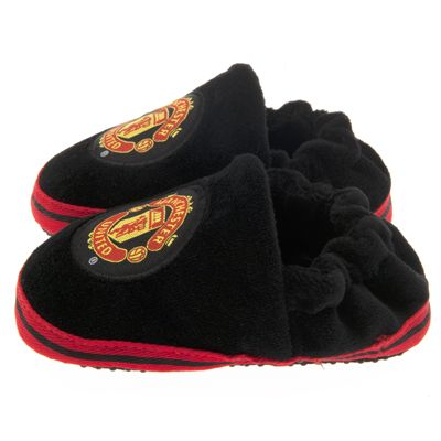 Man United Baby Slippers 3-6 Months | Manchester United Gifts |  Man United Shop
