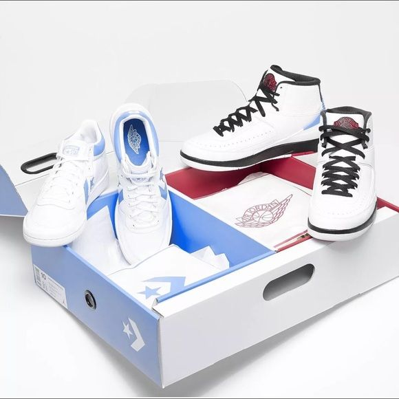 size 40 433e2 e5baa Air Jordan X Converse Pack Air Jordan X Converse Pack. Air Jordan 2 and  converse low. Deadstock. Amazing set couple of sizes. Straight from Nike  Store.