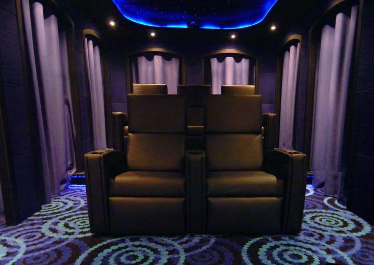 Great Home Theatre Design, Esp. The Carpet!