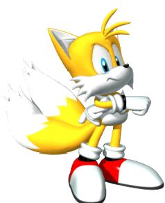 Tails Fox from the official artwork set for #SonicHeroes on PS2, Gamecube, XBOX and PC. #SonictheHedgehog. #Sonic. http://sonicscene.net/sonic-heroes