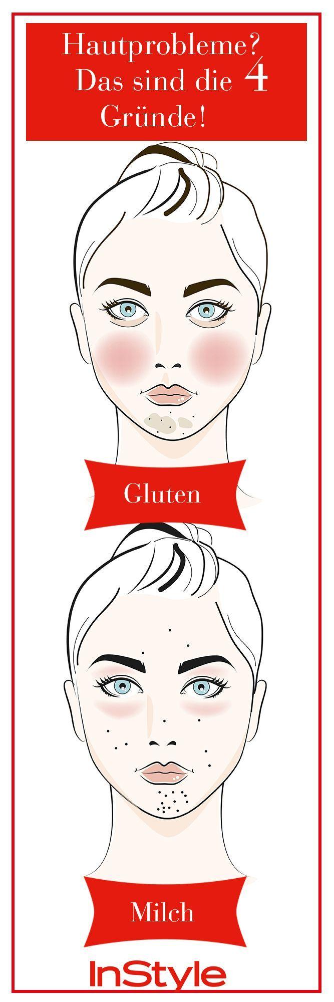 Pickel, Falten, Augenringe: Das verraten sie über dich