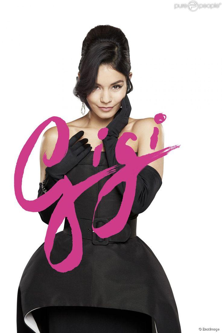 Vanessa Hudgens commence sa carrière d'artiste dans une comédie musicale à Broadway avec une reprise de Gigi le 19 mars 2015