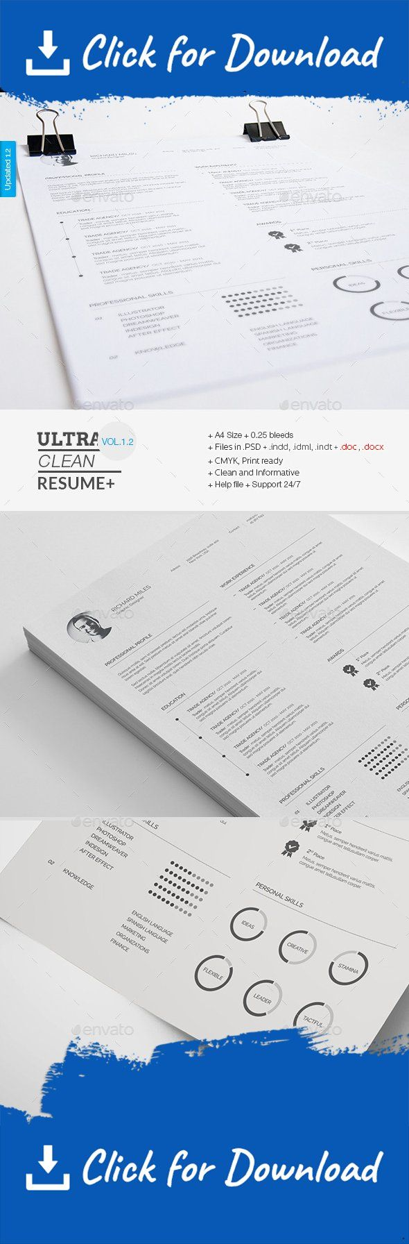45 best Resumes images on Pinterest | Cv template, Design resume ...