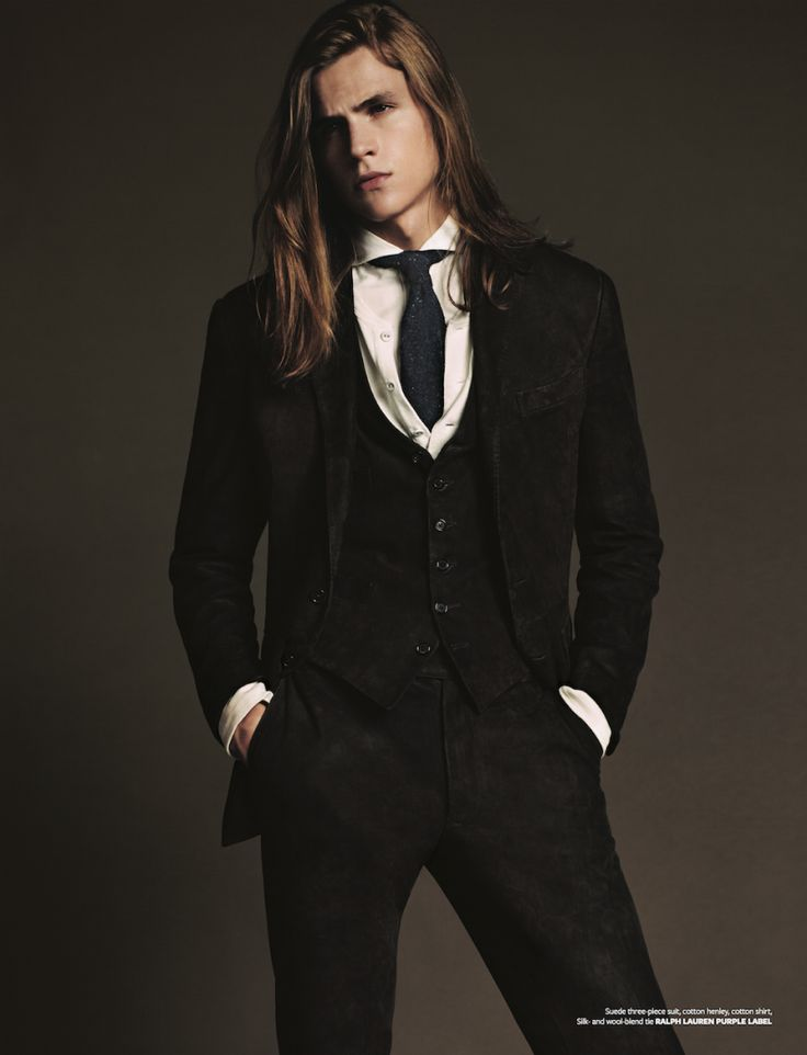 Malcolm Lindberg Models Western Inspired Styles for At Large
