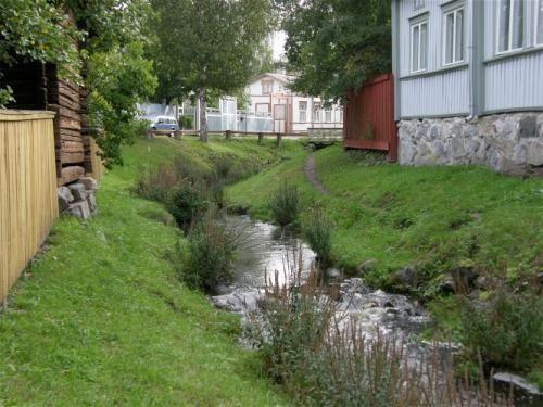 Vanhan Rauman joki  River in Old Rauma