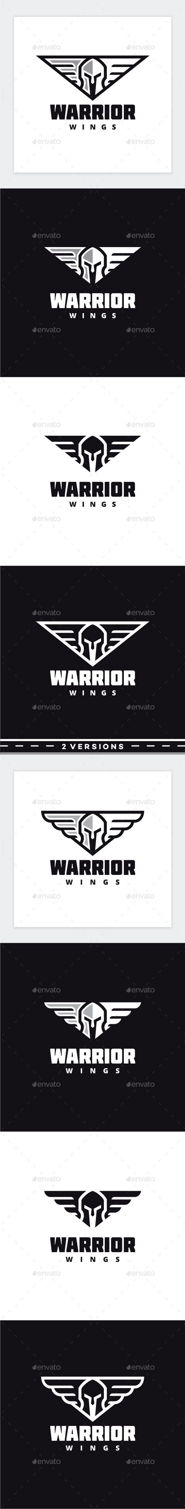 Warrior Logo — Photoshop PSD #spartan #guardian • Available here → https://graphicriver.net/item/warrior-logo/17528630?ref=pxcr