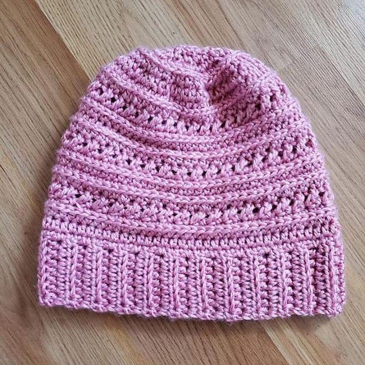 O padrão Guernsey Beanie Crochet por Shelly Diaz