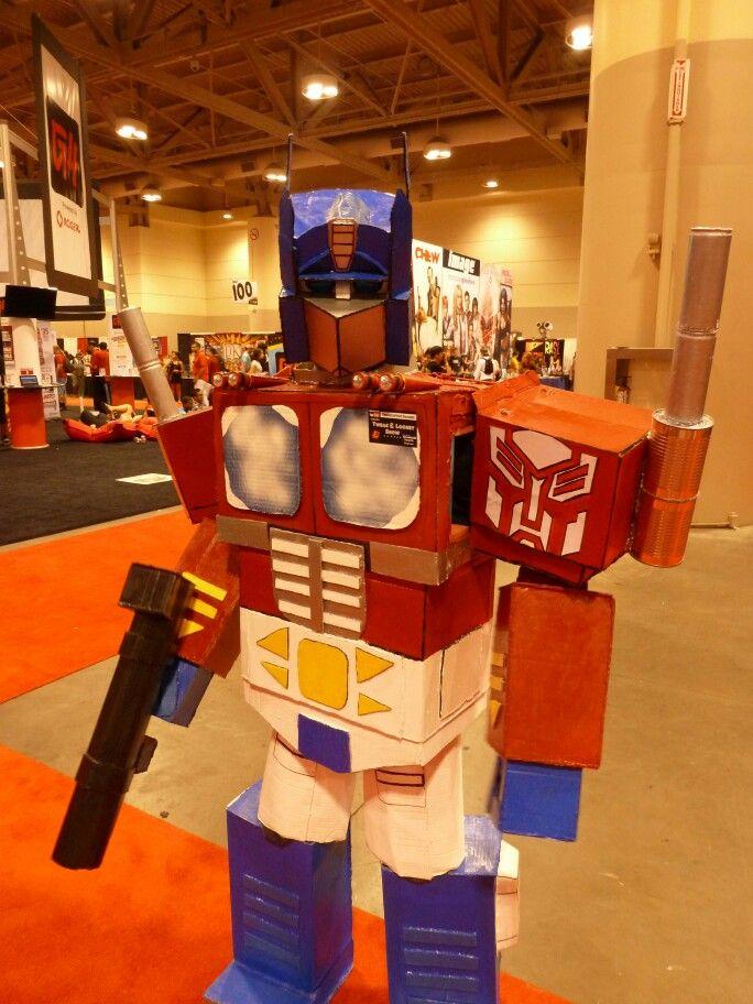 Optimus Prime Cosplay Toronto Comicon/FanExpo by Shane C