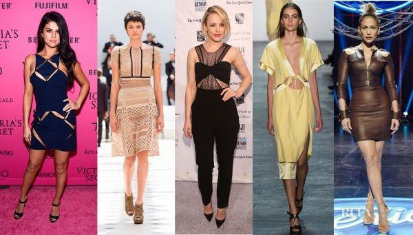 awesome Jennifer Lopez, Rachel McAdams et Selena Gomez montrent la peau dans des looks sexy avec découpes: Shop: Fashion & Style
