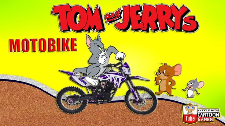 Fun Games. Tom and Jerry - Motobike. Tom and Jerry 2017 Games. Baby Game...