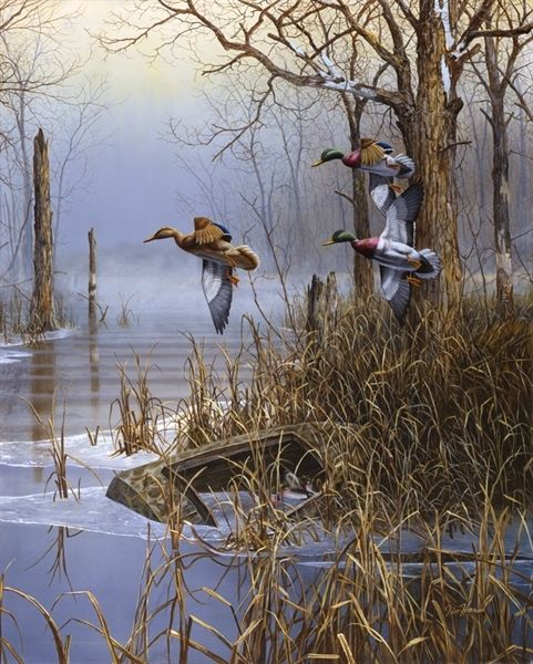 Jim Hansel ~ Picture of After The Thaw