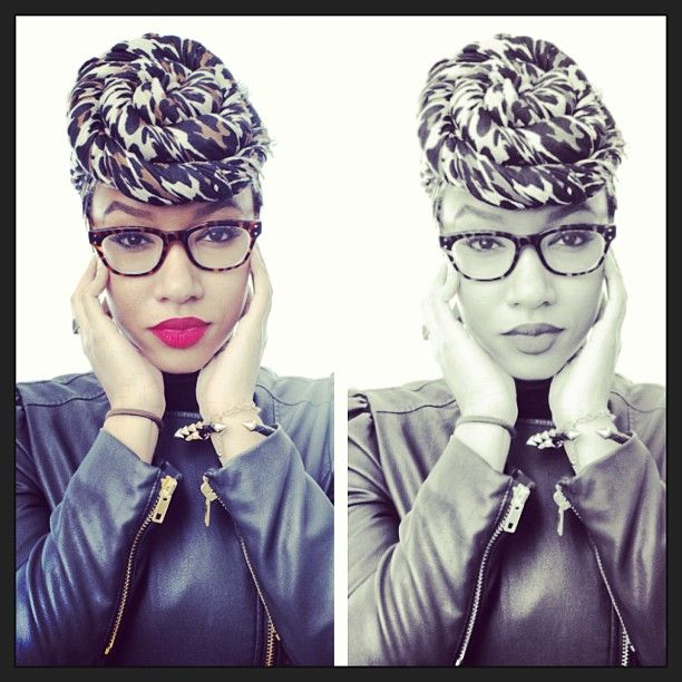 Head wraps are a fashionable trend. See how @Sierra November Samuelsen Jordan and others wrap for fashion!
