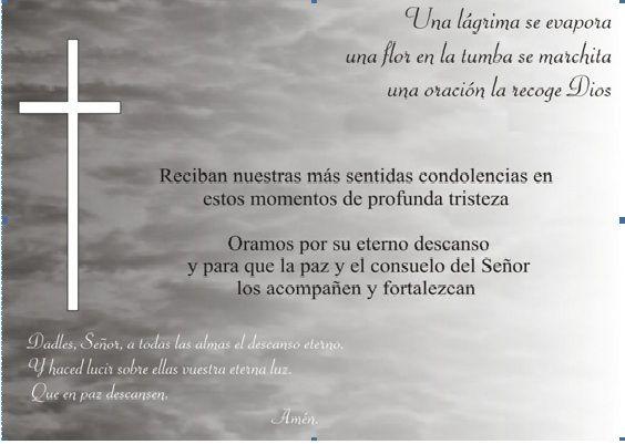 Tarjetas De Sentido Pesame | ... PERIODICO DEPORTIVO-EL SALVADOR: PESAME CLUB DE MOTOCROSS EL SALVADOR