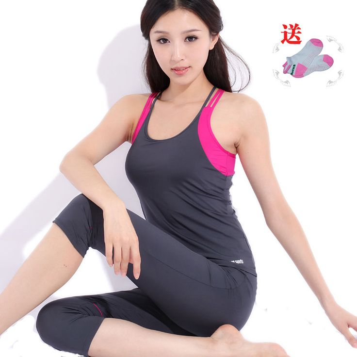Cheap Yoga Sets on Sale at Bargain Price, Buy Quality clothes clothing, clothing fashion, yoga clothing from China clothes clothing Suppliers at Aliexpress.com:1,Sport Type:Yoga 2,Gender:Women 3,season:spring and summer 4,yoga:beam leg bottoms pants 5,yoga clothes function:pad bearing