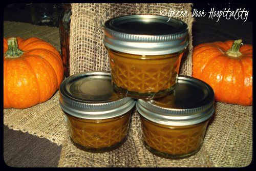 Spiced Crockpot Pumpkin Butter..uses brown sugar and apple juice as sweetener! Cheaper than maple syrup!
