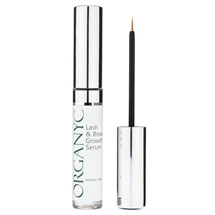 The Ten Best Eyelash Growth Serums- #7 Organyc Eyelash & Eyebrow Growth Serum #rankandstyle
