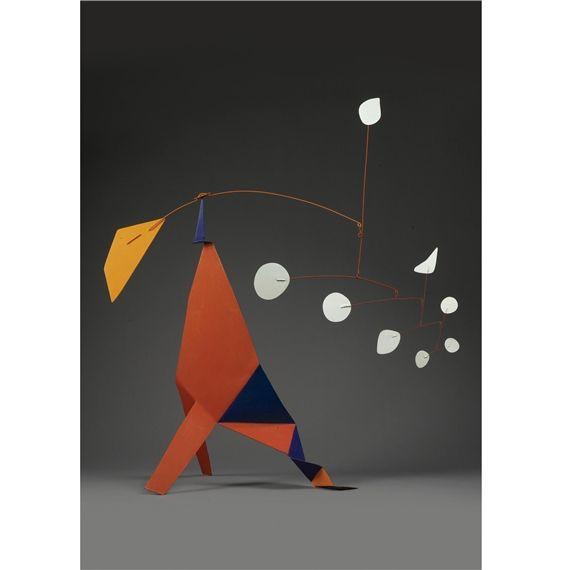 Alexander Calder, Orange Quadrilateral, 1973