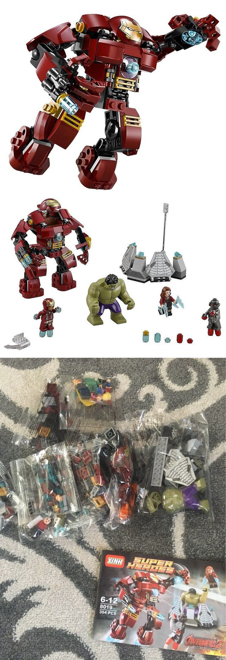 Other Building Toys 19015: Iron Man Hulkbuster Toy Gifts Brick Set For Kids | Lego Compatible Set -> BUY IT NOW ONLY: $39.9 on eBay!
