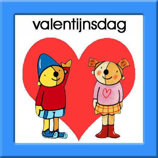 Leuk kaart voor Valentijns dag. Lieve kinderen, geef het aan je mama of iemand anders :-)