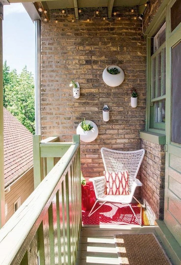 90 Great Ideas to Design Apartment Small Balcony