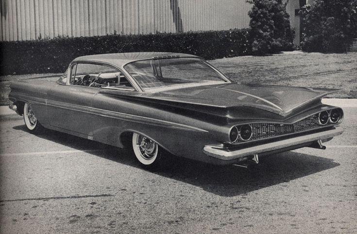 Joe Burgasser's 1959 Chevrolet Impala | Vintage Hot rods & Customs ...