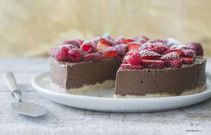 Gluten & dairy-free cheesecake