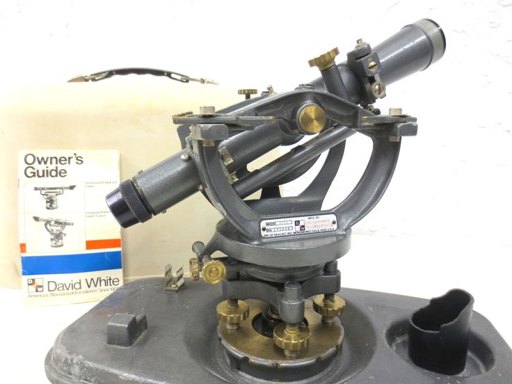 vintage david white instruments surveyor transit model 830 with rh pinterest com Car Owners Manual Car Owners Manual