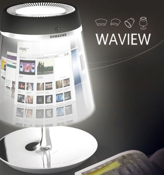 Samsung Waview: the conceptual hybrid of tablet and table lamp ~ My X New's