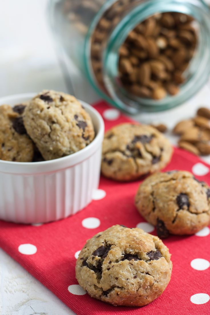 Biscuits Moelleux Banane Chocolat