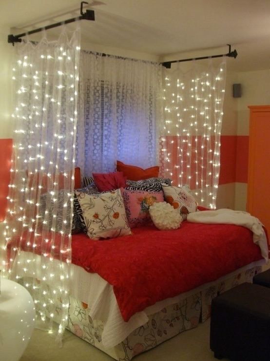 Diy Bedroom Decor For Teenage Girls Green Folding Bed Storage Green Cabinet Corner Red Study Desk Green Curtain As Well White Glass Window Bed Room Furn