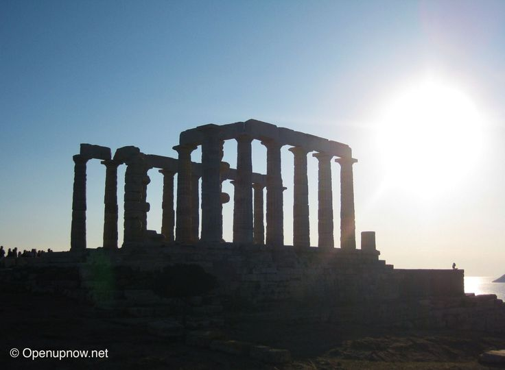Temple of Poseidon in Cape Sounion, #Greece © Openupnow.net  Is #Athens on your #BucketList? In 2010, we lived there for 6 months. Here's a list of 7 Things to do in Athens and the surrounding area: http://openupnow.net/2014/09/28/athens/ Let us know if you're looking for more #travel #tips in #Greece! :)