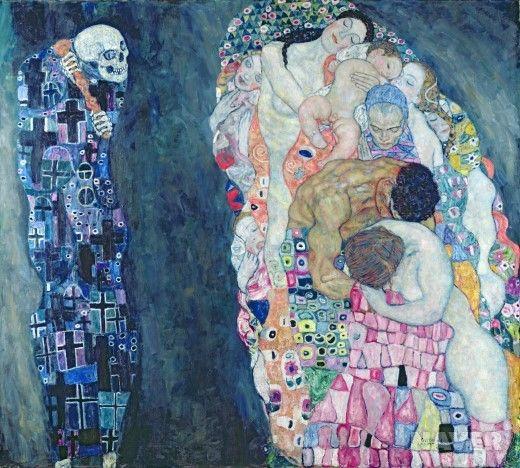 죽음과 삶 (Death and Life)  구스타프 클림트(Gustav Klimt)