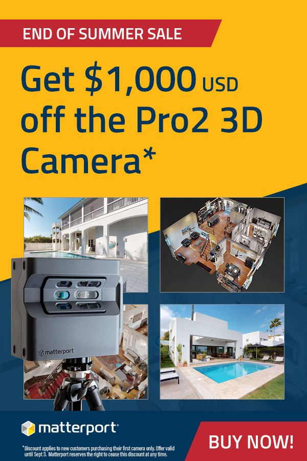 Summer Sale! Get $1,000 off the Pro2 3D camera - limited