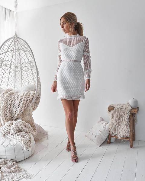 5b570932249e Casey dress - white in 2019 | Women's fashion | White dress, Sexy ...