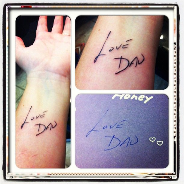 25 best ideas about father daughter tattoos on pinterest for Tattoos for dad that passed away