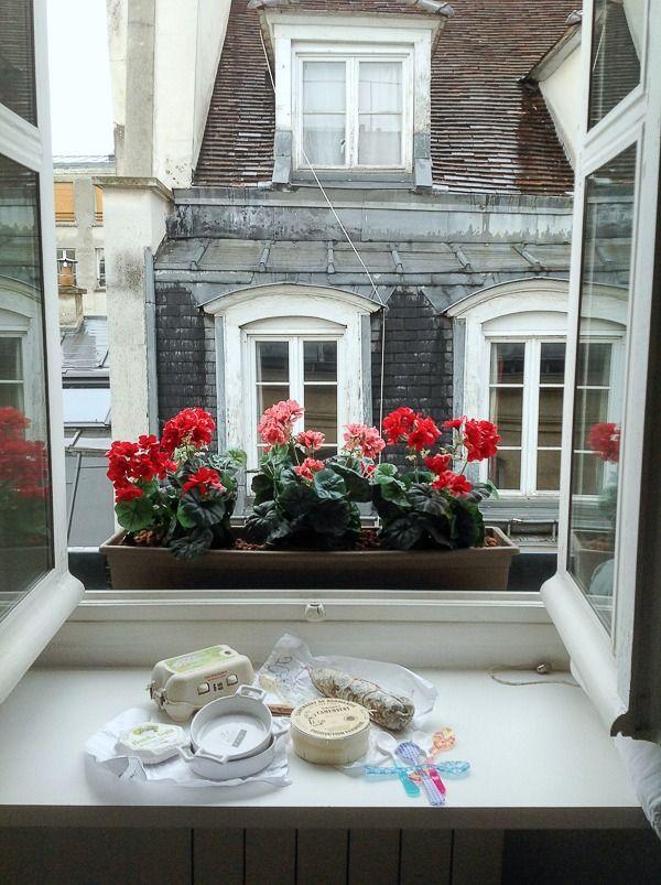Paris apartment view Rue de Temple  - From Where to Stay in Paris: Cobblestone Apartments {a true gem!} via @boulderlocavore